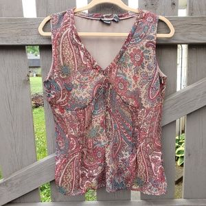 A.N.A. Sleeveless Top Size L with V-neck